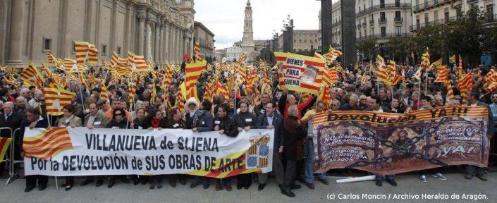 Manifestación 2010 Zaragoza