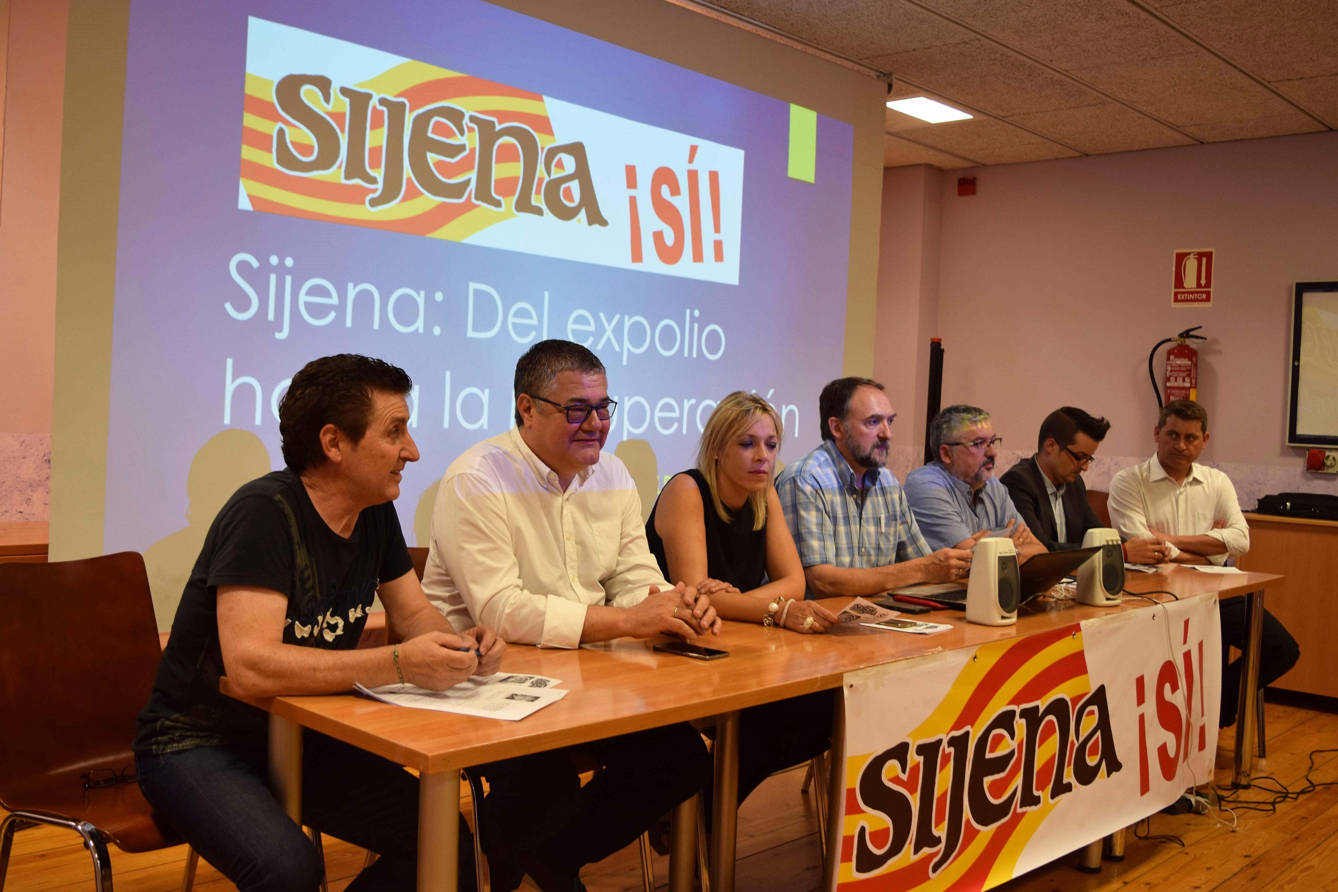 Plataforma Sijena Sí en Huesca 5 de julio de 2017