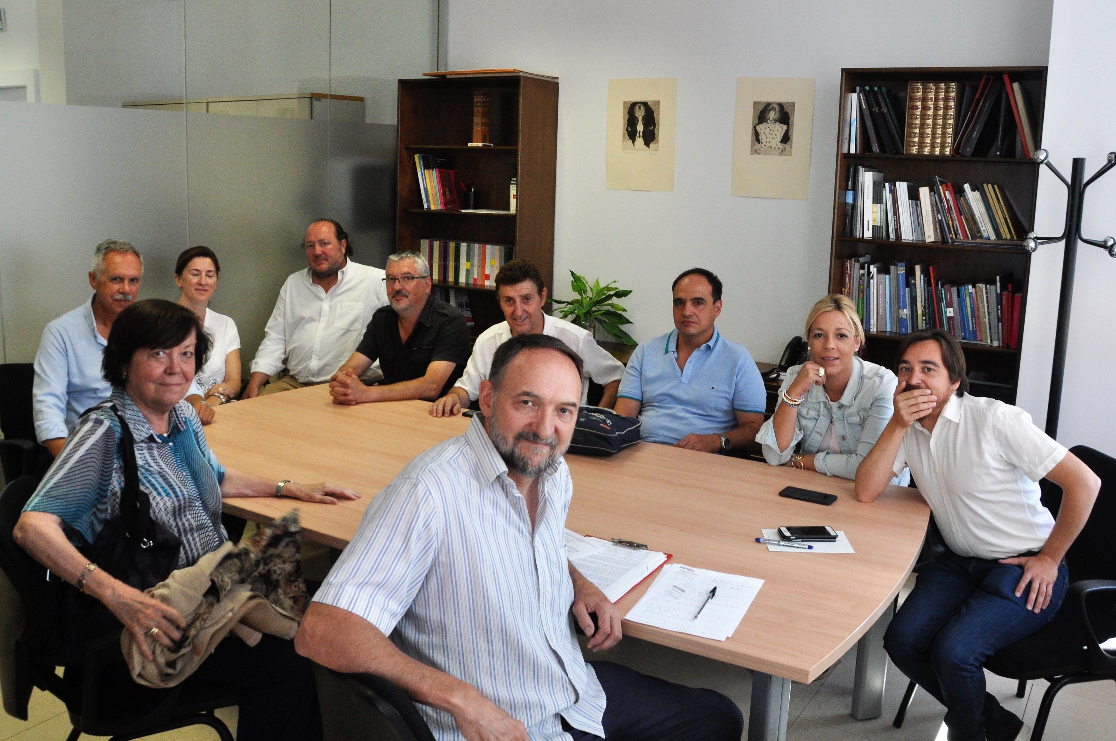 Reunión de la Plataforma Sijena Sí con el Director General de Patrimonio de la DGA