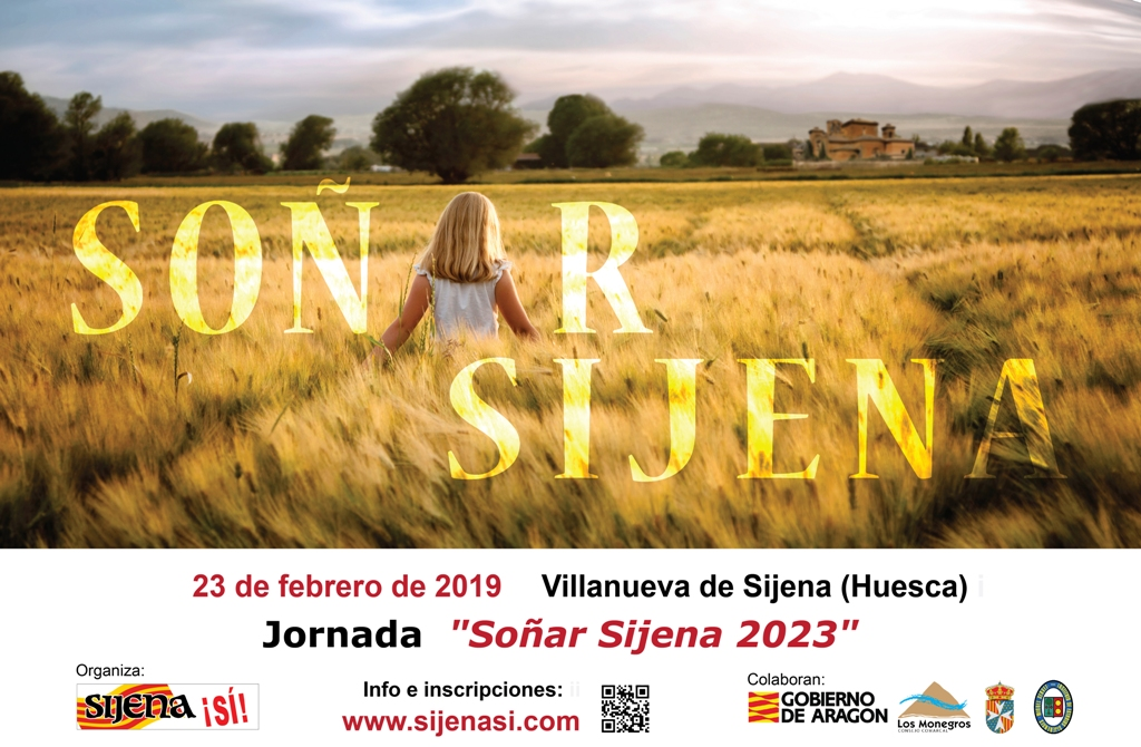 Cartel Jornada Soñar Sijena 2023