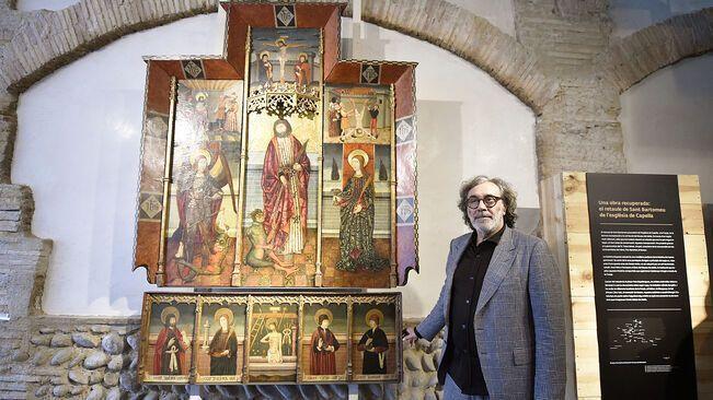 Tatxo Benet y el retablo de Capella